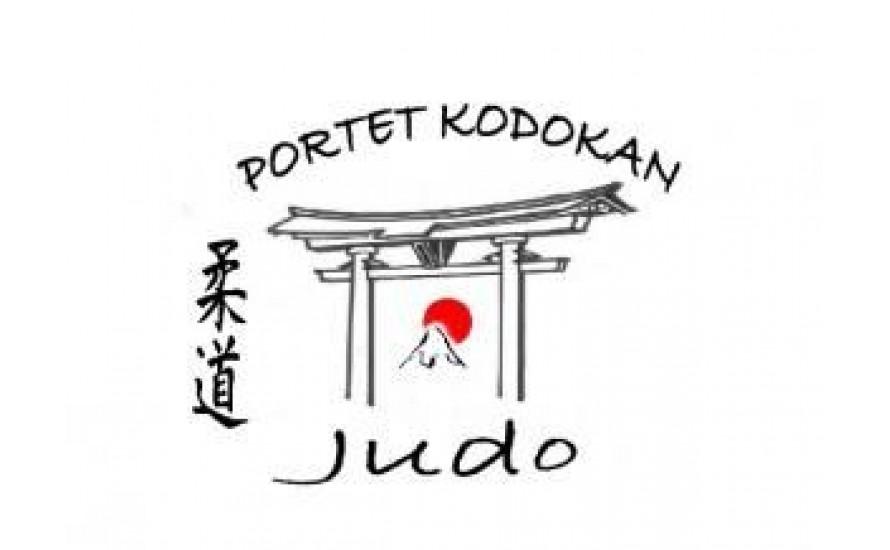 Logo du PORTET KODOKAN JUDO