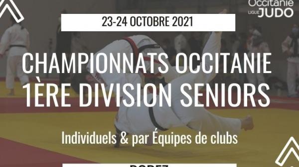 Championnats Occitanie 1ère Division Seniors Individuels et par Équipes de Clubs